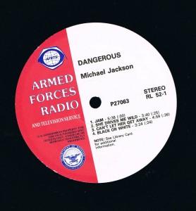 DANGEROUS : ALBUM PROMO SAMPLER ARMED FORCES RADIO AND TELEVISION SERVICE dans 33T ou 12' dangerousarmed-278x300